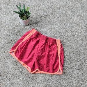 Girl's Pink Champion Shorts